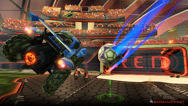 Rocket League NBA Flag Pack Gameplay Screenshot 4