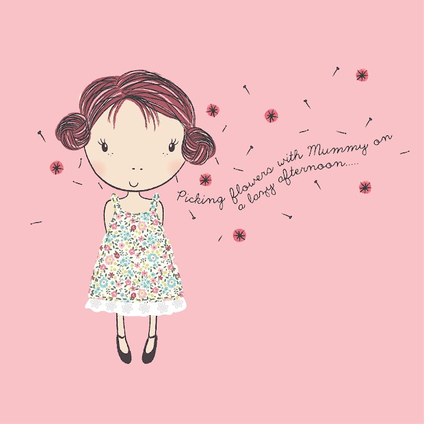 Emily Kiddy Little Girls Illustration