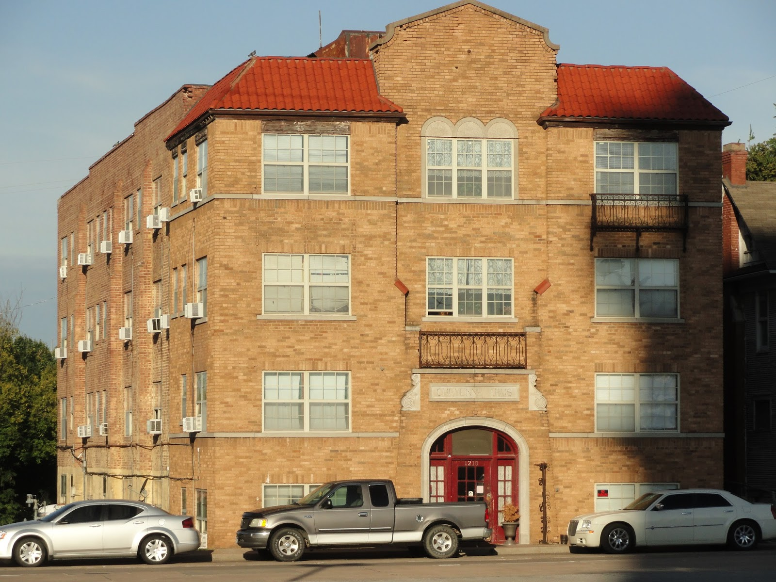Cheyenne Arms Is A Modest Apartment Building Not Too Far From The Ambassador