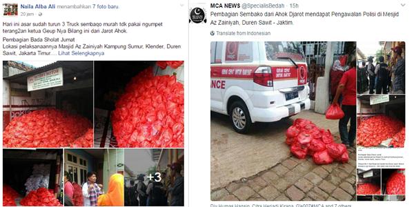 Ahoker Bagi-Bagi Sembako Dikawal Polisi, Anies Baswedan: Apa Iya Sudah SERENDAH Itu?
