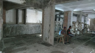 Pengerjaan Finishing Floor Hardener, Cafe, Blok M - Jakarta Selatan