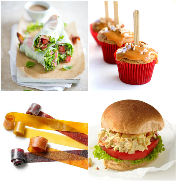 30+ Back to School Lunchbox Recipes - via BirdsParty.com