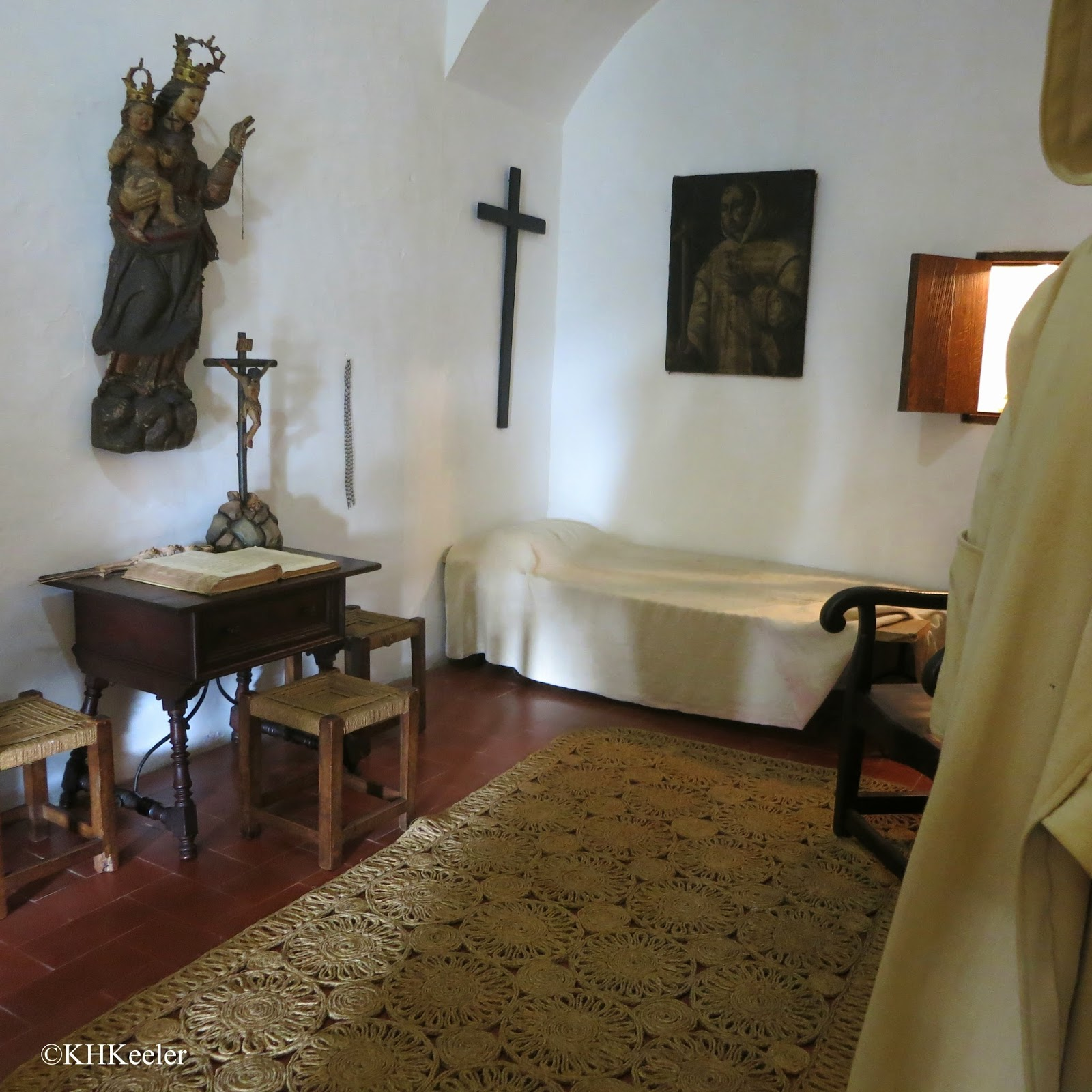 monk's cell, Caruja Real, Valldemossa, Mallorca