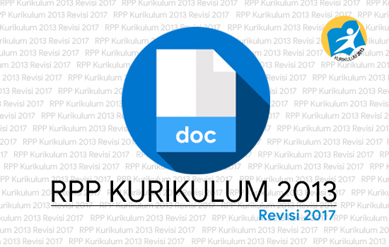Download RPP Kurikulum 2013 Revisi 2017 Kelas 1 Tema 4