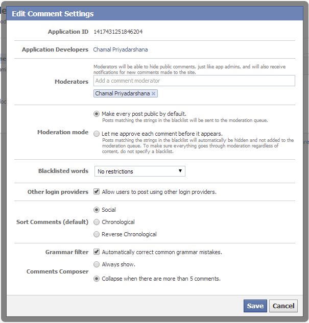 How To Add Facebook Comment Box with Notifications in Blogger