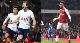 Susunan Pemain Tottenham Hotspur vs Arsenal