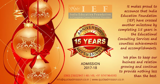 Celebrating 15 years of India Education Foundation