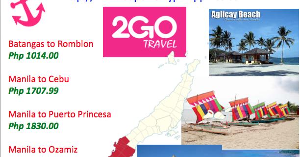 2Go Travel Promo - SuperFerry Promo 2020 to 2021: June ...