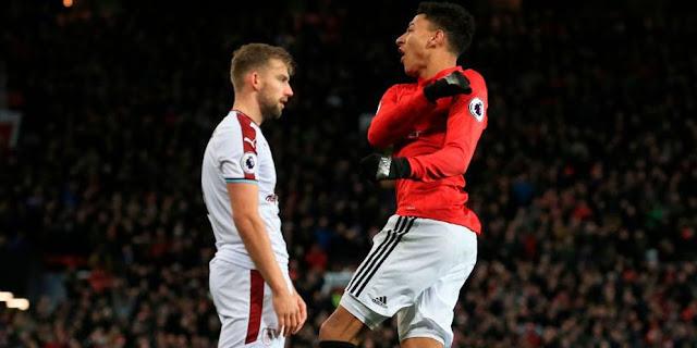 Hasil Pertandingan Liga Inggris : Manchester United Ditahan Imbang Burnley 2-2 di Old Trafford