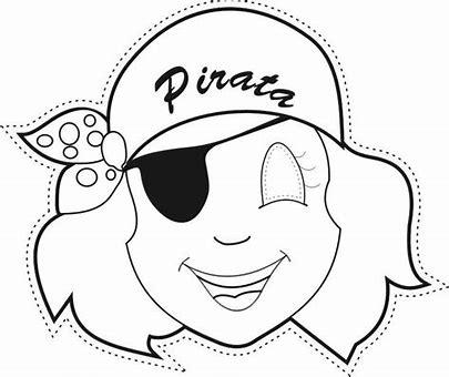 Trato O Truco Mascara De Pirata Para Imprimir