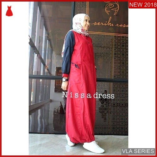 VLA148N91 Model Dress Nisaa Ff Murah BMGShop
