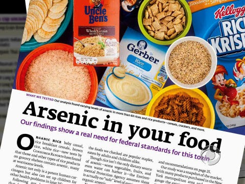 Arsenic In Your Food - Who's Really To Blame?
