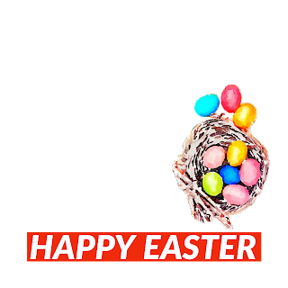 4/5 Designs of Easter eggs Facebook Frames Free Download