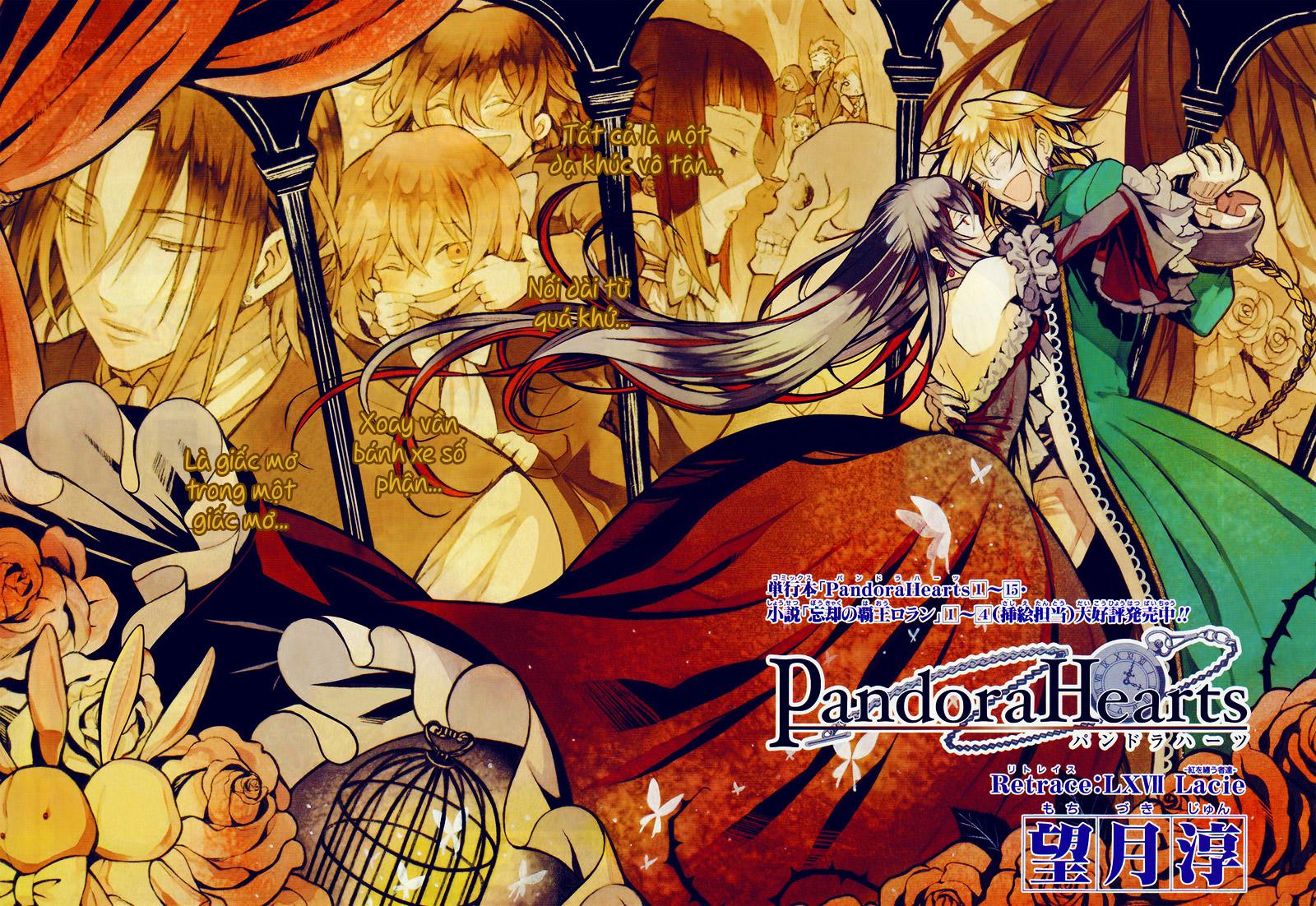 Pandora Hearts chương 067 - retrace: lxvii lacie trang 2