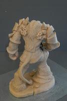 modellini horror fatti a mano creature personalizzate statuine su richiesta orme magiche