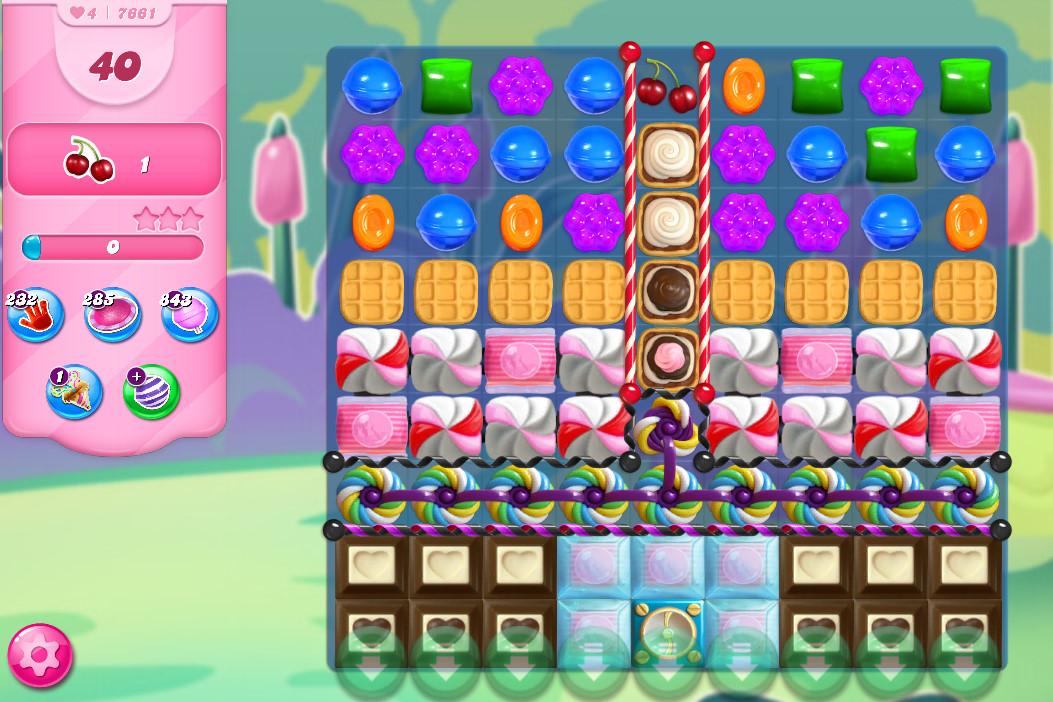 Candy Crush Saga level 7661