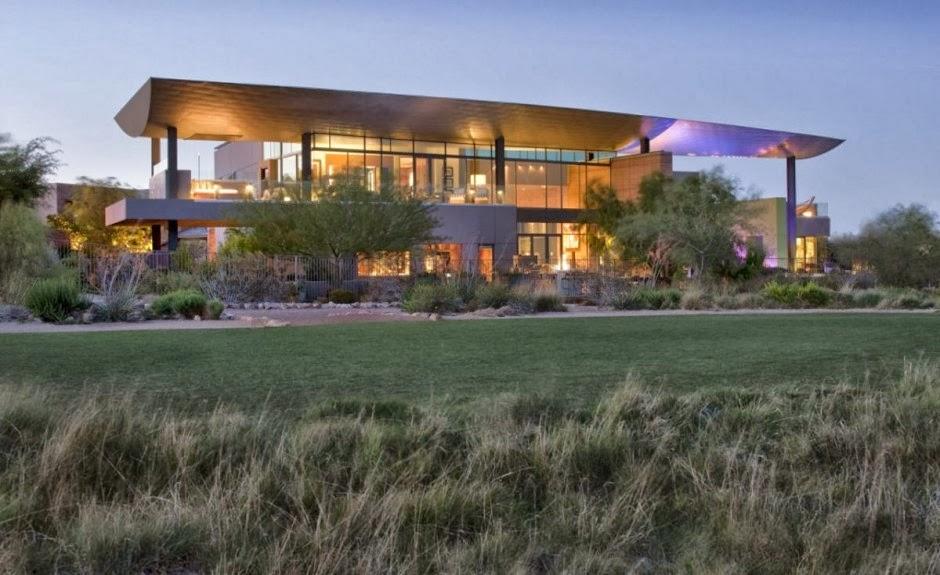 Sustainable Desert Home Design- J2 Residence - Modern home design ...