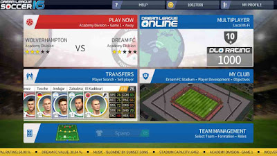 instal game dream league soccer