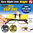 Night View Clip Ons Gen 3 Kacamata Anti Silau klip sun visor Glasses