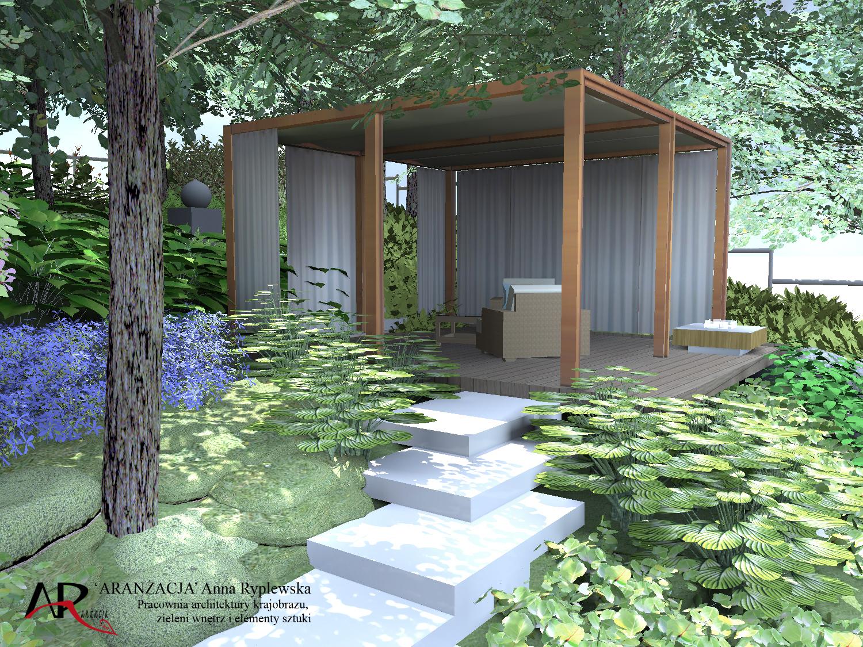 Ogród Na Skarpie Projekt Ogrodu Tarasowego