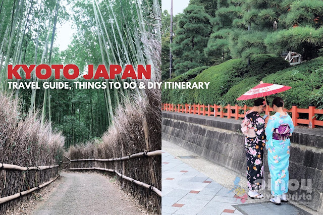 NEW UPDATED Kyoto Travel BLOG Guide Japan Itinerary