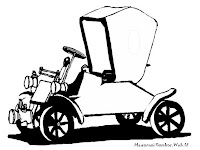 Antique Car Coloring Pages