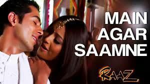 Main Agar Saamne Aa Bhi Jaya Karoon From Raaz (2002) Piano Notes