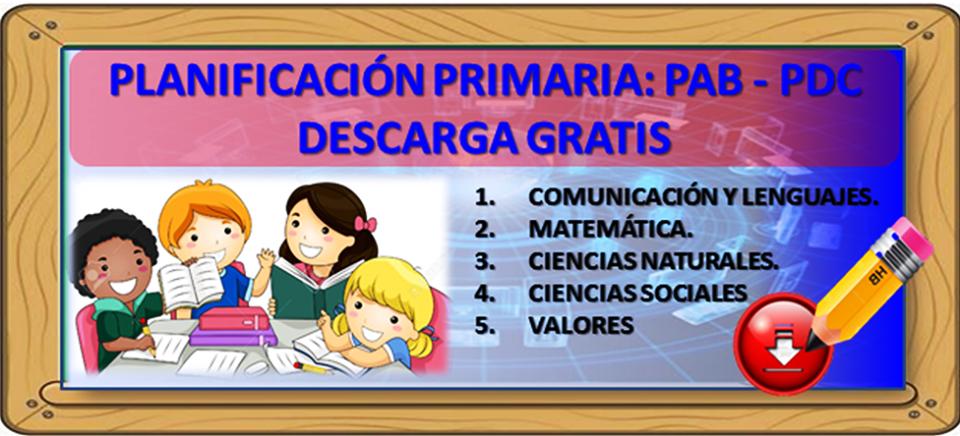 Magisterio De Bolivia Planes Primaria Pab Pdc