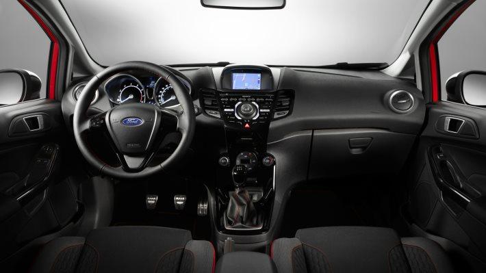 Wallpaper 4: Ford Fiesta Red Black