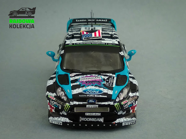 IXO RAM601 Ford Fiesta RS WRC Rally Catalunya 2014