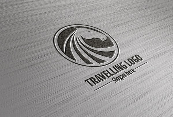 Free Logo Mock-up PSD