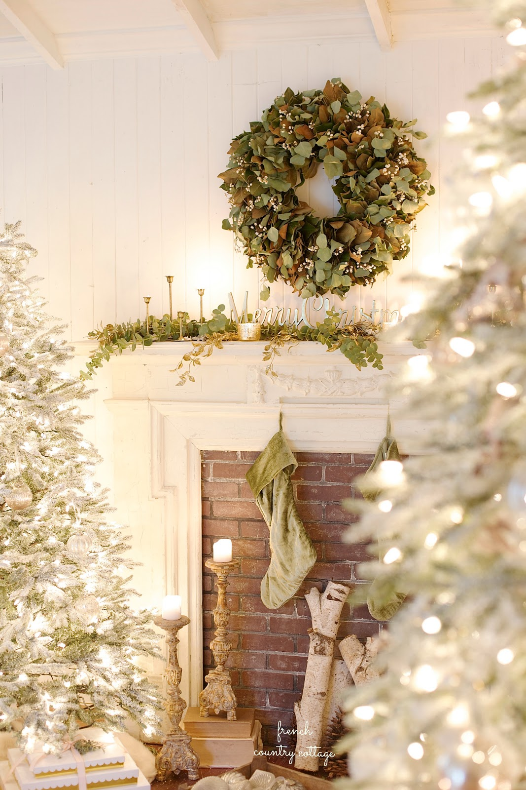 Christmas In French.French Country Cottage Christmas Home Tour French Country