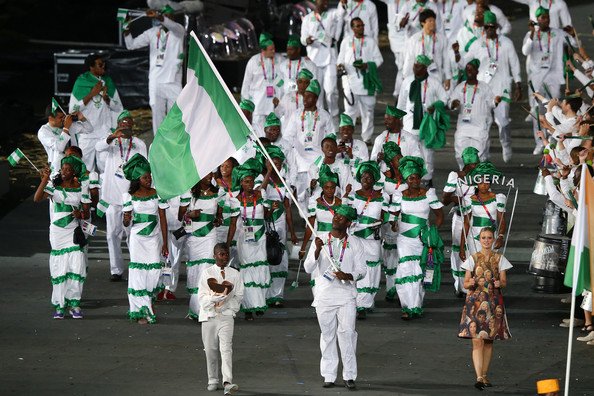 Image result for 2012 olympic opening ceremony nigeria