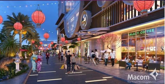 Phong cách thiết kế chuẩn Nhật Bản tại Hinode city