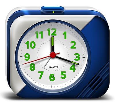 Electronic Alarm Clock Icons (PSD)