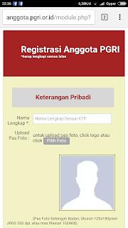 Daftar Keanggotaan Persatuan Guru Republik Indonesia PGRI