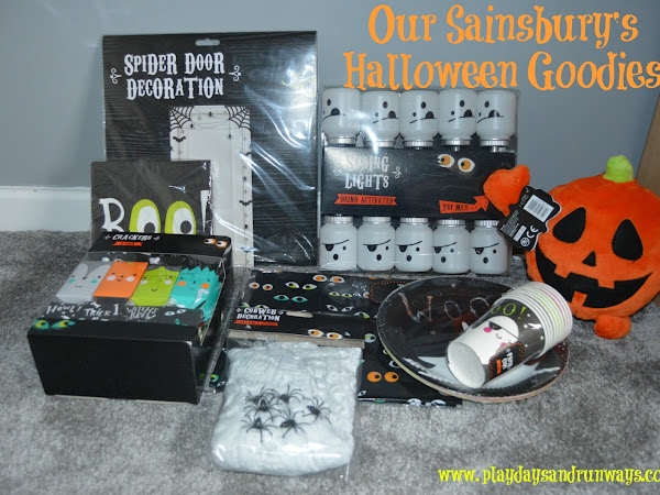 Our Sainsbury's Halloween Goodies