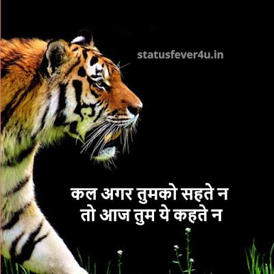 कल अगर तुमको सहते न  attitude status in hindi