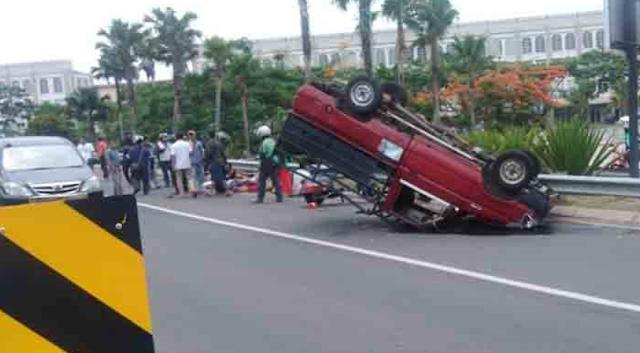 Kecelakaan Mobil Pick Up Rombongan Santri, 3 Meninggal Dunia