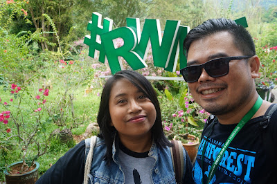 Me and Pipit, Rainforest World Music Festival 2016