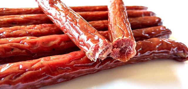 peppered beef sticks