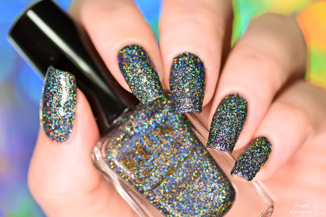 But It Is Not The Same As Actually Black Holographic Glitters When You Put This On Your Nails Instantly Become A Bad