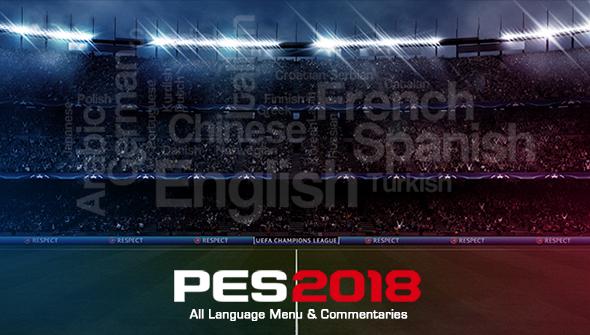 PES 2018 All League Menu & Commentaries