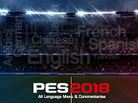 PES 2018 All League Menu & Commentaries