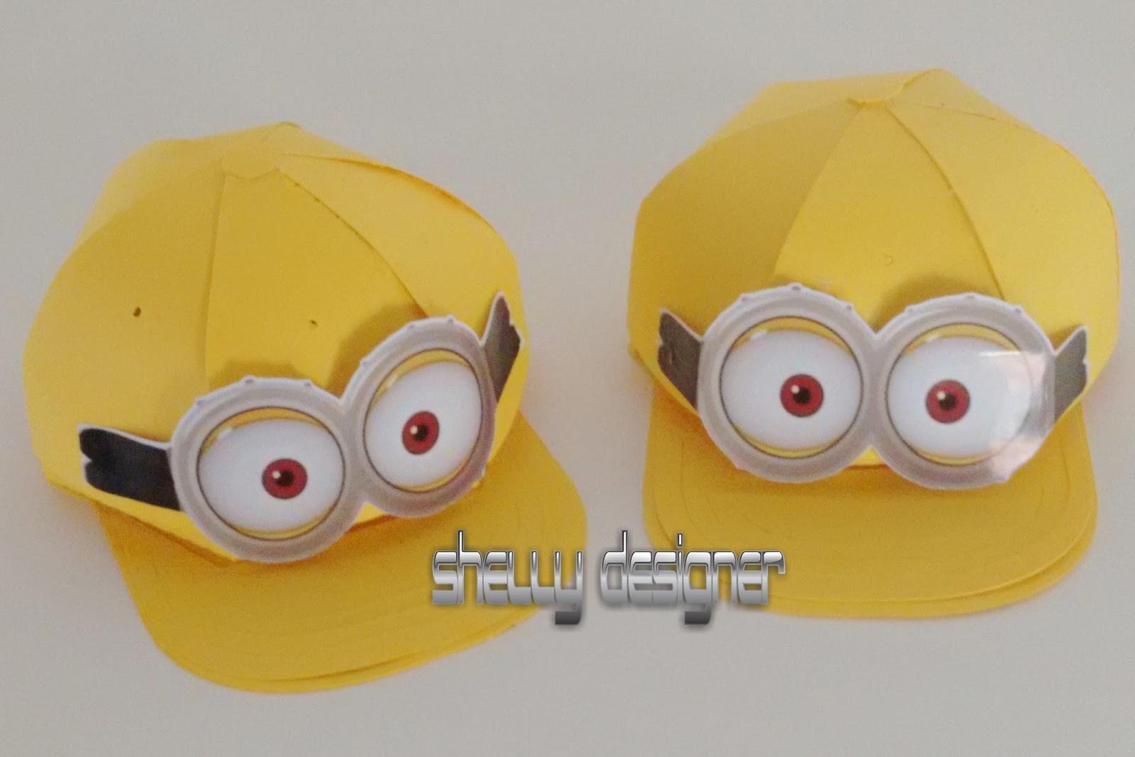 Shelly Designer  CAIXA BONÉ MINIONS 872fc0a62fb