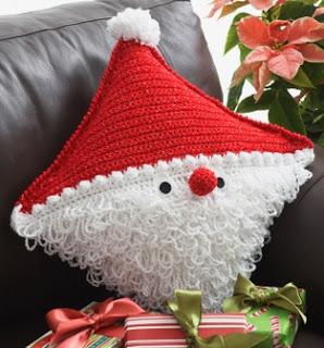 http://www.yarnspirations.com/pattern/crochet/santa-pillow