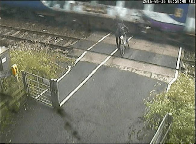 VIDEOS: Level crossings warning as footage shows dramatic near misses in Bradford