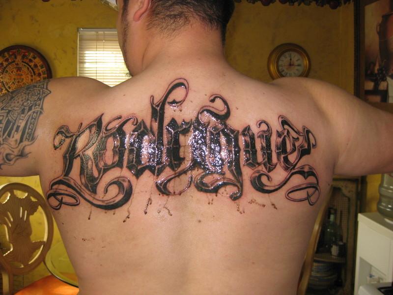 Old English Tattoos 99