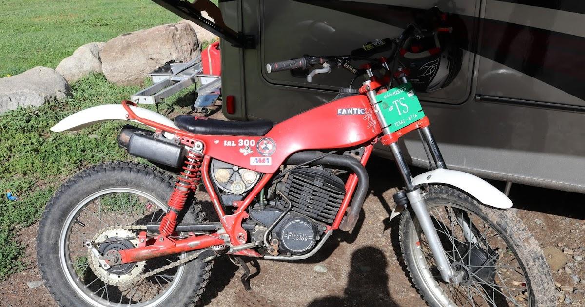 Fantic Motorcycles Trials