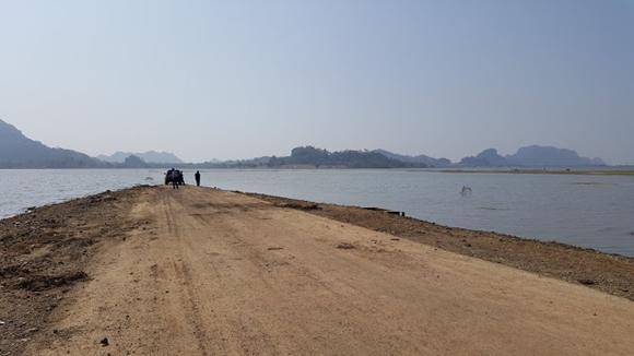 Air Tasik Empangan Padang Besar Kampung Sahabat Tasoh Mula Kering